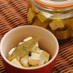 豆腐のオリーブオイル漬け