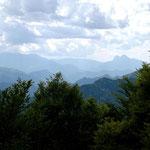 Blick vom Coll de Jou mit Pedraforca im Hintergrund