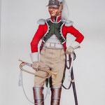 Modell eines napoleonischen Soldaten (Trompeter)
