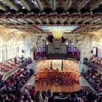 Blick vom Olymp in den Kozertsaal