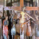"Kreuzigungsfigur in Kirche Sant Joan de les Abadesses ""Santíssim Misteri"""