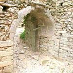 Eingangstor der Burg