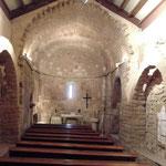 Inneres von Sant Pere Despla