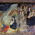 Michaels-Kapelle/Fresken: Epiphanias und Maria als Himmelskönigin