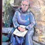 Bildnis Bruder Galceran, der Schöpfer der Dioramen