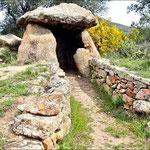Eingang zum Grab