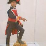 Modell eines spanischen (?) Offiziers der Napoleon-Zeit