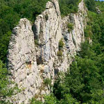 Felsen auf dem Weg