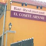Restaurant in Sant Joan mit dem Namen des Grafen