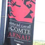 Arnau-Fahne in Gombrén