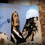Plakat: Das hätte sein können, wenn Dalí sich in Quermançó installiert hätte