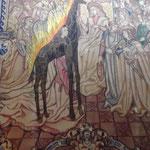 Teppich Königin von Saba vor Salomo (Dali Bearbeitung)