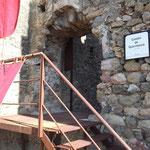Empfang auf der Burg