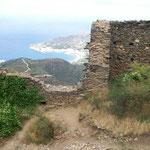Blick nach Osten Richtung Port de la Selva
