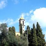 Die ab 1777 erbaute Kirche
