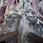 Skulptur des katalanischen Liedes