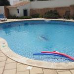 Unser Pool: Spaß und Erfrischung nur für uns