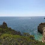 Das Meer an der Algarve