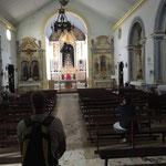 Kirchenbesuch Algarve