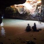 Höhlenbesuche