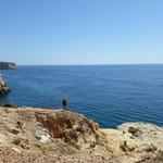 Aussicht und das weite Meer