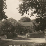 Trittiford Mill, c. 1905. It made pen nibs until 1926, when a fire put an end to production.