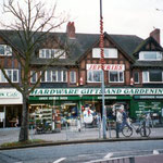 Shop row, Shirley Road, c. 1929, in a popular mock Tudor style