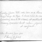 Writing by Sr Aimee de Jesus, 1917