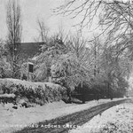 A snowy Warwick Road 20 January 1912 (Nicky Byrne)