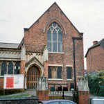 Methodist chapel, 1863 (part of existing church), Shirley Road