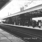 The station, c. 1907