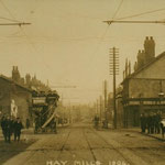 The Coventry Road at the Cole bridge,  Hay Mills, 1904