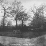 The Jubilee seat. This was on the island near where McDonalds is now.