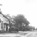 The Dolphin Inn, c.1905. This attractive Inn was at the edge of the countryside, and at the old hamlet of Acocks Green, away from today's centre. It was demolished in 1930, and replaced with a typical 1930s roadhouse. Aldi has stood there since 1991.