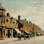 The Coventry Road at the Plough and Harrow