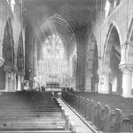 The Nave showing the pews