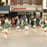 More majorettes (there were three groups altogether that year)
