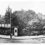 Ivy Cottage tram terminus, 1920s (Nicky Byrne)