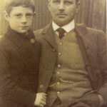 Henry Rose and his son Harry, c. 1910