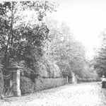 Fox Hollies Road, c. 1905. This is by the gates to Fox Hollies Hall. Both pillars and new gates in the original style now stand by the bus stop. The Hall was demolished by 1937, and three tower blocks were built by 1964 at the back of the grounds.
