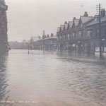 Flooding at Hay Mills, 31st December 1900