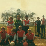 Fox Hollies Park Residents Association football team. We bought out own kit