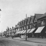 Market Place, the Stratford Road at Cateswell Road, c. 1910