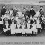 St Mary's school, 1901