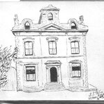 Wilton House, drawn in 1916 by Sr St Felix. Many of the images here come from an autograph book kept by Marie Burton, which was donated to Mary Smith of the History Society.