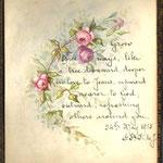 Coloured pen work, 1915