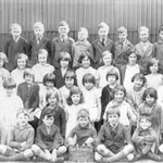 A class at the school, c. 1940. Beryl Jones is top right at the end. Thanks to Elaine Lillis for this information