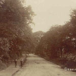 Deakins Lane, c. 1905. Part of this is already built up, at the Coventry Road end.