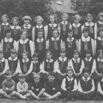 Part of a 1925 photograph, found in a car boot sale in Weston by Eva Westwood!
