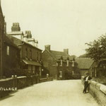 Yardley Village, looking towards the farm